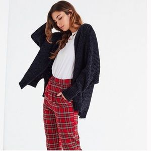 NWT Urban Outfitters Plush Chenille Cardigan